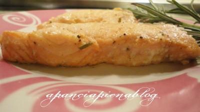 salmone al forno  a pancia piena blog