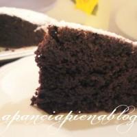 torta al cioccolato morbidissima (senza uova e burro) a pancia piena blog