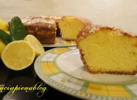 Ciambella al limone (ricetta tradizionale e bimby)