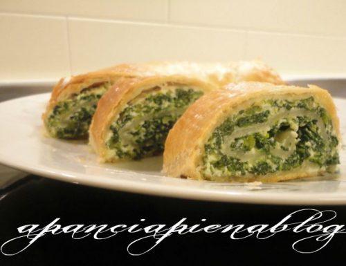 Rotolo spinaci e ricotta (ricetta semplice)