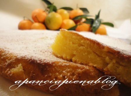 Torta al mandarino (ricetta tradizionale e bimby)
