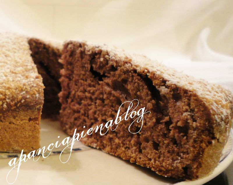 torta cocco,cacao e yogurt a pancia piena blog