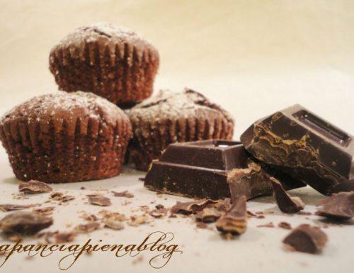Muffins al cioccolato (ricetta semplice)