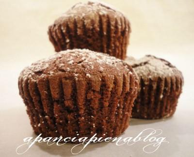 muffins al cioccolato a pancia piena blog