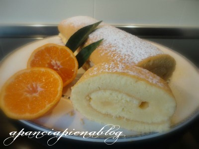 rotolo alla crema di mandarino a pancia piena blog
