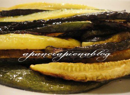 Zucchine al forno (ricetta light)