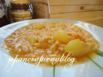 minestra di zucca che si cuoce da sè a pancia piena blog