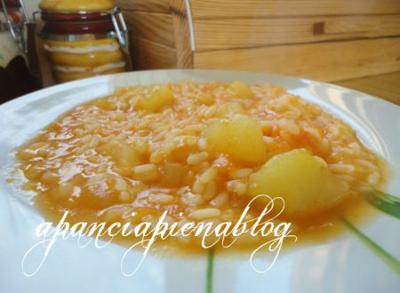 Minestra di zucca che si cuoce da sè (ricetta veloce)
