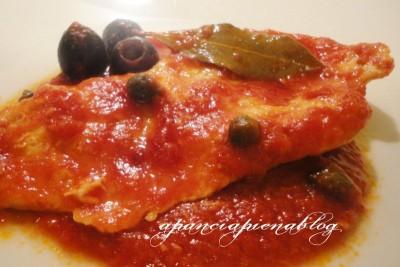 petto di pollo alla pizzaiola a pancia piena blog