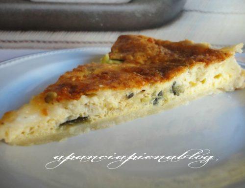 Quiche con melanzane (ricetta impasto superveloce)