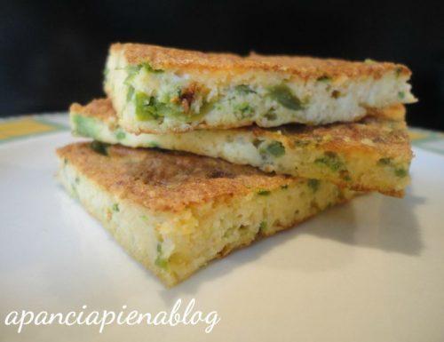 Frittata con asparagi selvatici (ricetta semplice)