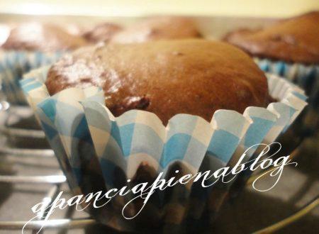 Muffins cioccolato e ricotta (ricetta tradizionale e bimby)