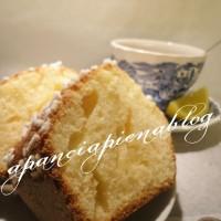 Torta al profumo di limone (ricetta tradizionale e bimby)