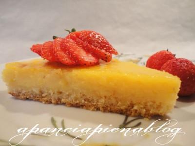crostata con crema al limone a pancia piena