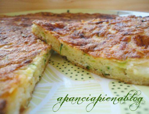 Frittata con zucchine e scamorza (ricetta semplice)