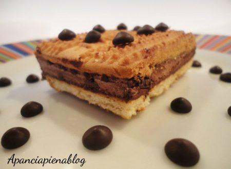 Gelato biscotto al cioccolato (senza gelatiera)