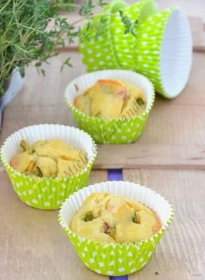 muffin-asparagi a pancia piena
