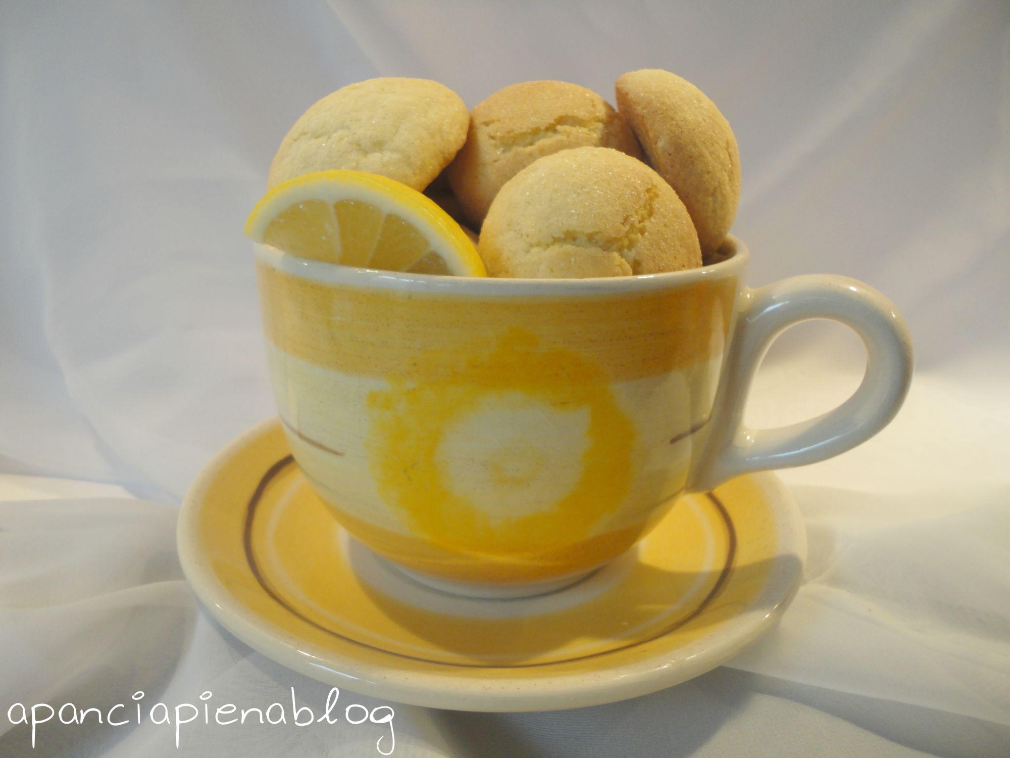 biscottini al limone a pancia piena