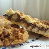 Sbriciolata alla nutella (ricetta tradizionale e bimby)