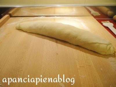rotolo di pane al salame a pancia piena blog