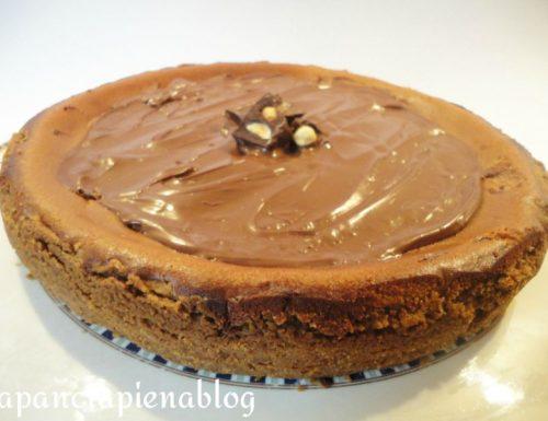 Cheesecake alla nutella (preparazione tradizionale e bimby)