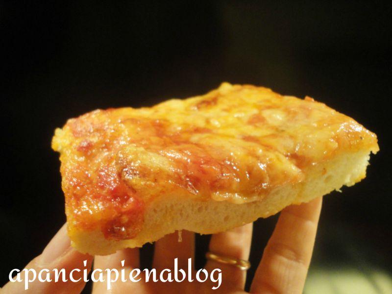pizza al taglio a pancia piena