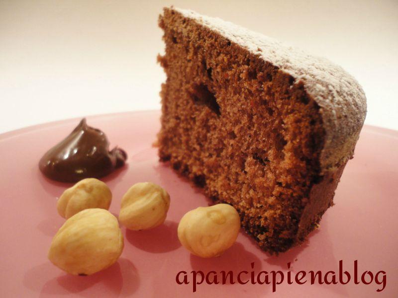 torta alla nutella  a pancia piena