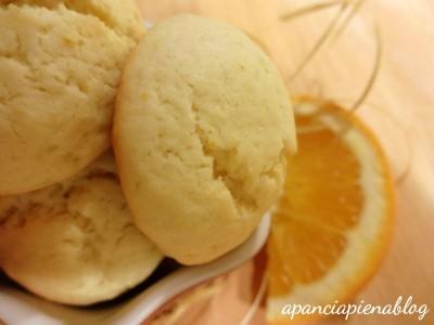 biscotti all'arancia a pancia piena