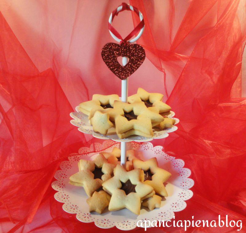 I biscotti di Natale (ricetta con nutella tradizionale e bimby)