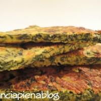 frittata di ricotta e spinaci a pancia piena