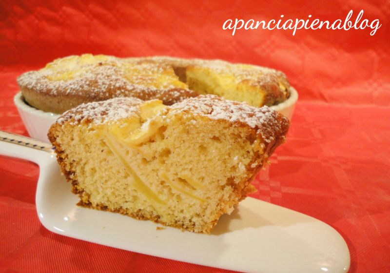 torta di mele e nocciole a pancia piena