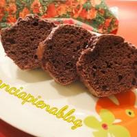 torta semplice al cioccolato a pancia piena