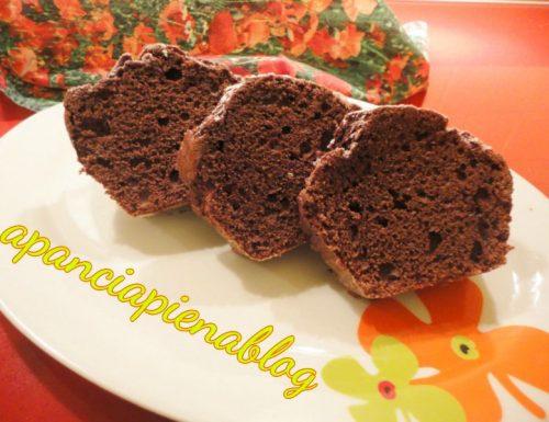 Torta semplice al cioccolato (preparazione tradizionale e bimby)