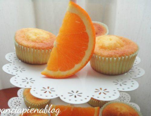 Muffins all'arancia (ricetta tradizionale e bimby)