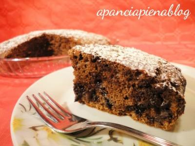 torta cioccolato e ricotta a pancia piena