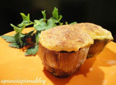 Carciofi ripieni (ricetta senza forno)