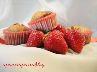 muffins fragole e limone a pancia piena