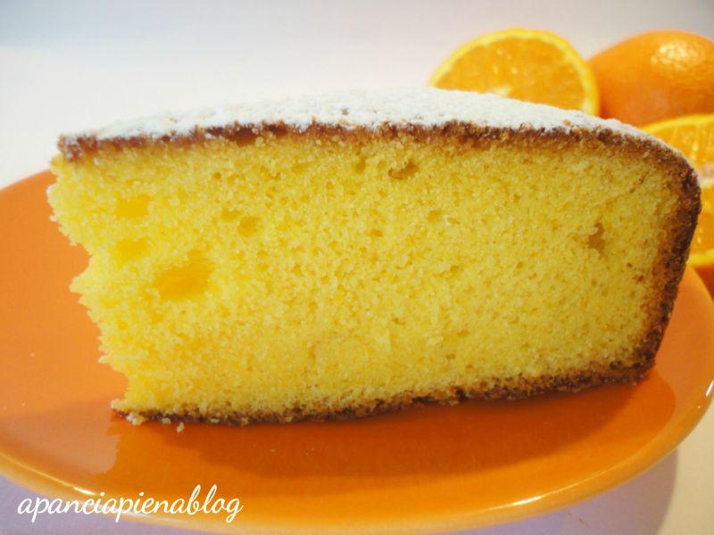dolci con arancia