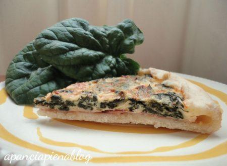 Quiche con spinaci (ricetta tradizionale e bimby)
