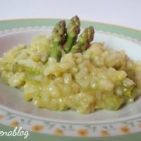 risotto agli asparagi a pancia piena