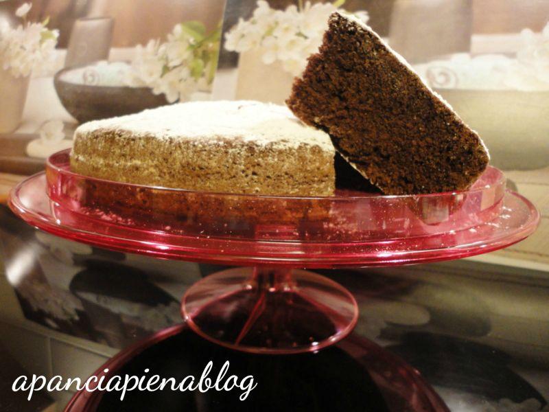torta paradiso al cioccolato a pancia piena