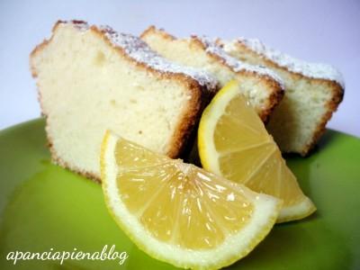 torta solo albumi al limone a pancia piena