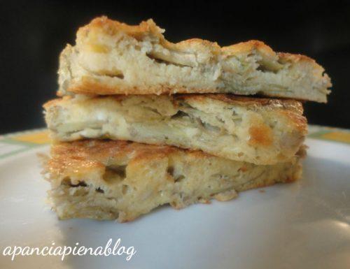 Frittata di carciofi (ricetta vegetariana)