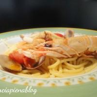 spaghetti allo scoglio a pancia piena