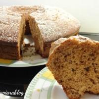 Ciambella cioccolato e amaretti (ricetta tradizionale e bimby)