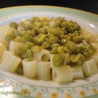 Pasta e piselli (ricetta vegetariana)