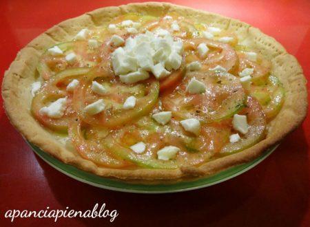 Quiche caprese (ricetta tradizionale e bimby)