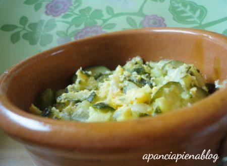 Zucchine con le uova