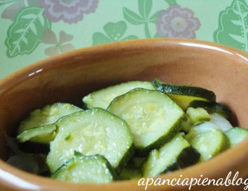 Zucchine in umido (ricetta vegetariana)