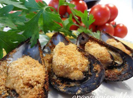 Cozze gratinate (ricette d'estate)
